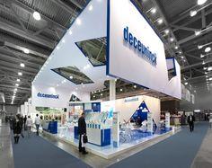 Exhibition stand  Deceuninck. ExpoForce.ru by ivan fomin, via Behance