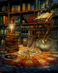 Sanctuary: Wizard's #Library.
