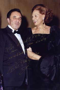 Carlo Bergonzi and Renata Tebaldi....two of the best that ever stepped on a stage and graced the world of opera..