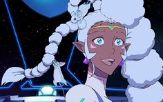 I think my favourite part about this scene is that no one stares at Allura in horror/awe. No one laughs or makes a comment. They just roll with it.