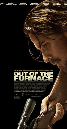 Directed by Scott Cooper.  With Christian Bale, Casey Affleck, Zoe Saldana, Woody Harrelson. When Rodney Baze mysteriously disappears and law enforcement doesn't follow through fast enough, his older brother, Russell, takes matters into his own hands to find justice.