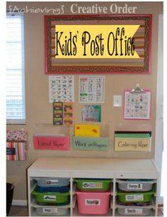 Create a Christmas Post Office for the Kiddos!