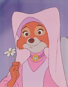 "maid marian from disney's ""robin hood"" My favorite disney movie"