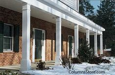 Fypon Porch Columns Not Only Look Fantastic But Also Provide Amazing Strength Front Posts