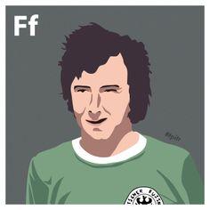 F is for Franz Beckenbauer. #atoz #tpitr