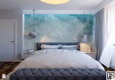 Projekt sypialni - zdjęcie od Architekt Wnętrz Patrycja Wojtaś - Sypialnia - Styl Skandynawski - Architekt Wnętrz Patrycja Wojtaś