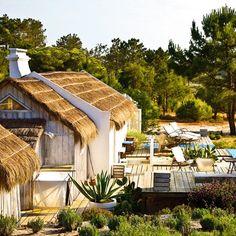 Au Portugal, entre sable et eau, une cabane de pêcheur devenue maison de vacances