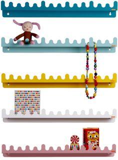 Doodle shelves - kidsroom- decoration
