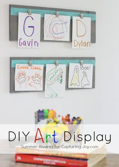 DIY Art Display