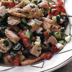 Tunisian fattoush with tuna @ allrecipes.co.uk
