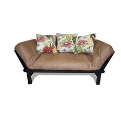 for library  elite products hudson futon in olive   primo futon tampa chocolate  game room    aarons   pinterest      rh   pinterest