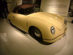The first production models used Beetle car headlights.