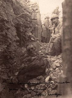 WWI, Dec 1915, French trench