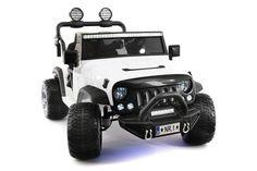 EXPLORER 12V KIDS RIDE-ON CAR TRUCK WITH R/C PARENTAL REMOTE | WHITE