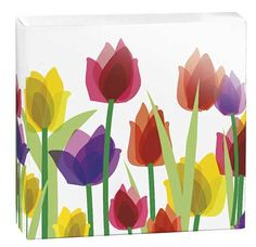 A lovely spring tulip box