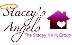 Stacey's Angels   The Stacey Nikirk Group   Real Estate Logo Designs   #realsupport