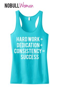 #Workout #Tank Hard Work  Dedication  by #NobullWomanApparel on Etsy, for only $24.99! Click here to buy https://www.etsy.com/listing/165946987/workout-tank-hard-work-dedication?ref=shop_home_active_23