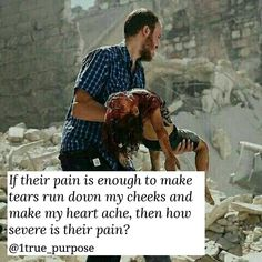 Their pain is so severe that it hurts me so bad. They are facing horror and terror by the oppressors. May Allah give victory to our oppressed brothers and sisters. And May Allah accept our small efforts to help them. Ameen.
