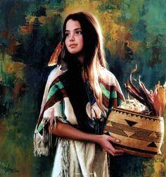 Karen Noles, 1947 ~ pinturas de nativos americanos