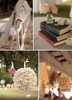 A Novel Idea ✈ Wedding Inspiration from Books Wedding 2015, Diy Wedding, Wedding Flowers, Library Wedding, Wedding Book, Wedding Dreams, Dream Wedding, Sonnet 116, Mutual Weirdness