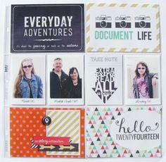 Document Life 2014 - Cover Page - Scrapbook.com