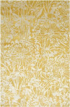 Yellow is the perfect baby neutral rug for your nursery!