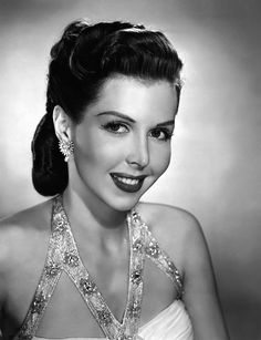 Ann Miller is best remembered for her work in Hollywood musical films of the and Old Hollywood Style, Hollywood Fashion, Golden Age Of Hollywood, Vintage Hollywood, Hollywood Actresses, Classic Hollywood, Actors & Actresses, Female Actresses, Actor Secundario