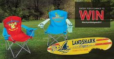 Bring a part of the Margaritaville® lifestyle to your backyard with these chairs and wall sign! There will be 5 lucky winners. Enter NOW through Sept. 30, 2017. http://woobox.com/4t2vju