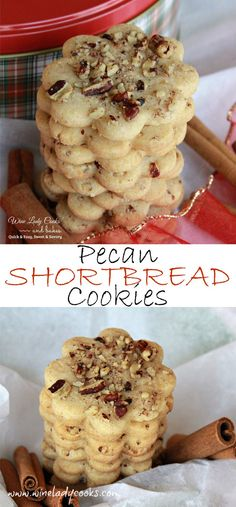 Pecan Shortbread Cookies, very easy and a favorite cookie for any season. Great cookie for a cookie exchanges. Click thru for recipe http://wp.me/p3sX9D-2t