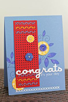 It''s Your Day Card by Erin Lincoln for Papertrey Ink (November 2013)