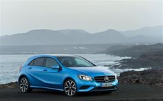 2013 Mercedes A Class! love the blue