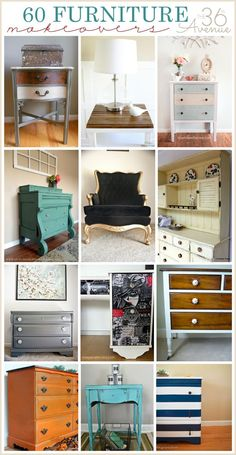 Best Furniture Makeovers | The 36th AVENUE - inspiration for my next upcycling project