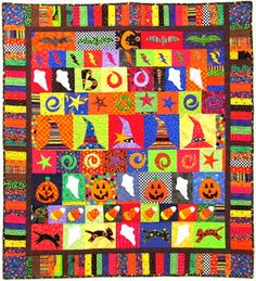 halloween quilt - Google Search