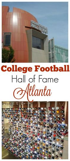 The next time you are in Atlanta, the College Football Hall of Fame museum should definitely be on your list for places to visit especially if you are a huge college football fan.    #cfbhall #hosted #southernfamilytravel