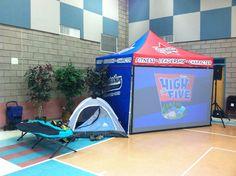 Team Huddle display at Ranch Santa Fe