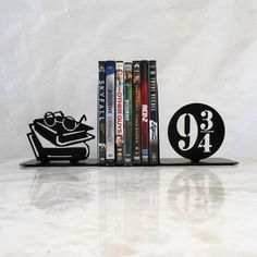 9 3/4 Metal Bookends Dumbledore Harry Potter by Just4theArtofit