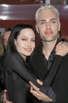 Angelina Jolie & her brother, James Haven.