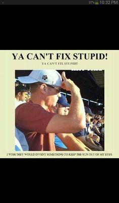 Stupid haha