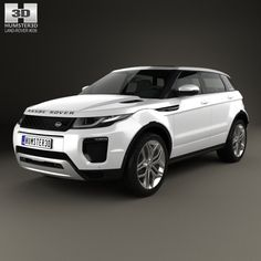 Land Rover Range Rover Evoque 5-door 2015 3d model from Humster3D.com.