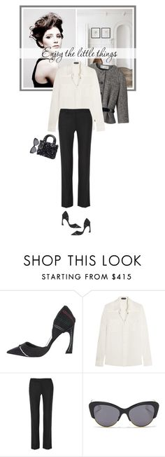 """""""Enjoy the little things..."""" by mariotsala22 ❤ liked on Polyvore featuring Christian Dior, Angelo, Tom Ford, Helmut Lang and vintage"""