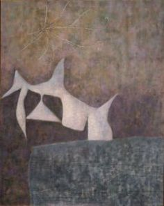 William Baziote - White Bird