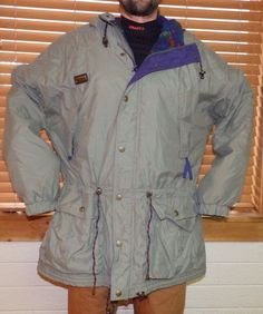 vtg 80 s COLUMBIA fleece print lined safari jacket aztec southwest mens xl  tall  Columbia   e3eb79163