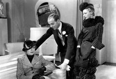 """""""Roberta"""" 1935 - A musical with Irene Dunne, Fred Astaire and Ginger Rogers. Costumes by Bernard Newman."""