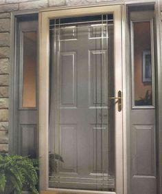 Exterior Doors Fibergl Entry Photo Gallery Door W Sidelites Storm