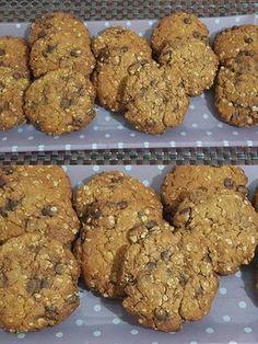 Sweet Cookies, Biscuit Cookies, Cake Cookies, Greek Sweets, Cake Bars, Diy Cake, Healthy Sweets, Healthy Recipes, Greek Recipes
