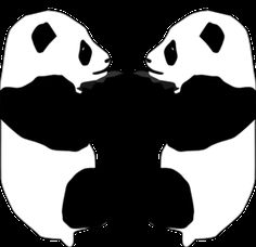 Panda Bear Clip art - Animal - Download vector clip art online