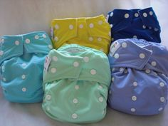 I am in love with these and only have had them for a day and a half!  KaWaii cloth diapers: good options and good reviews.
