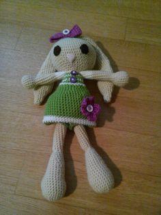 Coniglietta verde