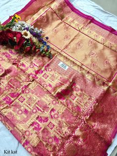 Kit kat Pure Silk Saree, Such Saris women use to wear on Casual Wea and Party Wear at Online Lowest Wholesale Price Shipping Worldwide in Surat Pure Silk Sarees, Party Wear, Weaving, Sari, Kit, Pure Products, Clothes For Women, Blouse, Clothing