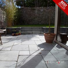 These deep-hued natural stones are adaptable to a range of different garden settings and look wonderful in all of them.   This natural paving slab can be the enduring centrepiece patio material for your garden or patio area for decades with the right love and care. Best price in Ireland, get Limestone natural paving slabs at €24.99 meter square. Garden Slabs, Paving Slabs, Natural Stones, Hue, Ireland, Centerpieces, Sidewalk, Range, Patio